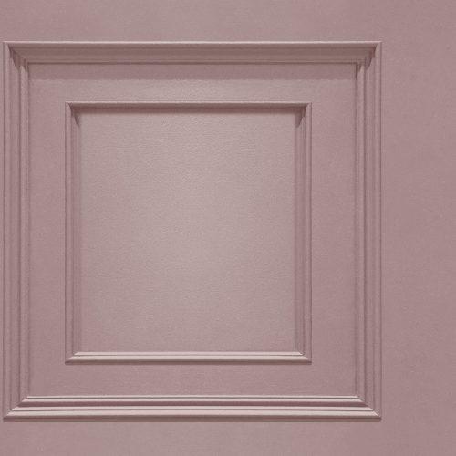 Oliana Wood Panel 8488 Pink Belgravia Decor Wallpaper