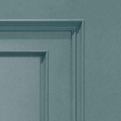 Oliana Wood Panel 8488 Soft Teal Belgravia Decor Wallpaper