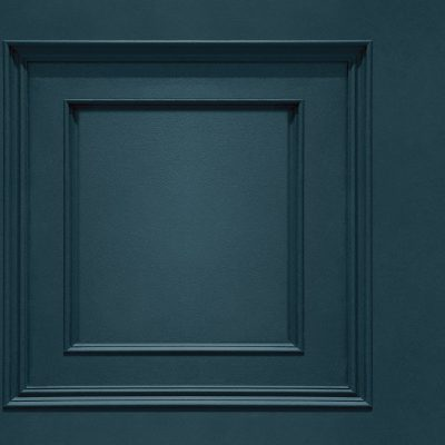 Oliana Wood Panel 8491 Navy Blue Belgravia Decor Wallpaper
