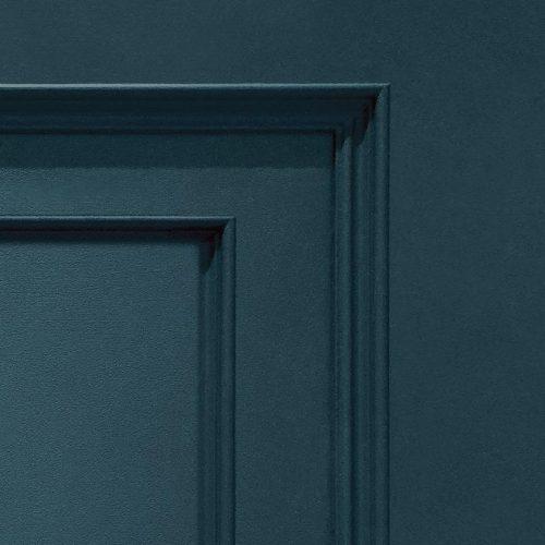 Oliana Wood Panel 8490 Navy Blue Belgravia Decor Wallpaper