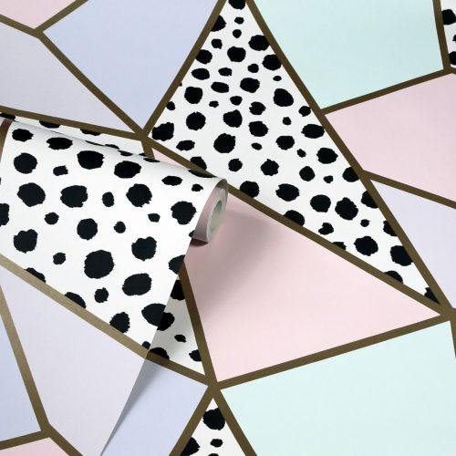 Arthouse 908508 Dalmatian Fragment Geometric Wallpaper