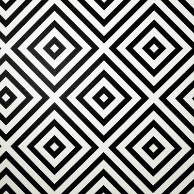Geo Diamond Wallpaper Mono Arthouse 908909