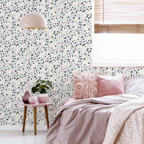 Dalmatian Pastel Wallpaper Multi Arthouse 909708