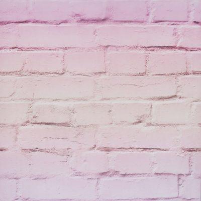 Ombre Brick Wallpaper Pastel Pink Arthouse 909706
