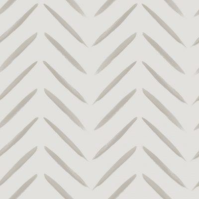 Chevron Brush Marks Taupe 13041 Holden Wallpaper