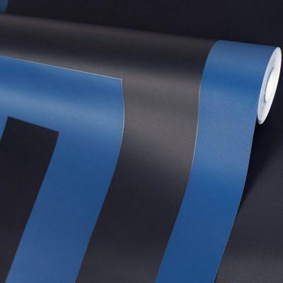 Versace Greek Key Blue Navy 38609-3 (386093) Wallpaper