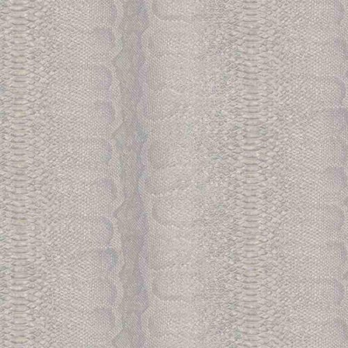 Fine Decor Grey Snake Faux Skin Glitter Wallpaper - 88736