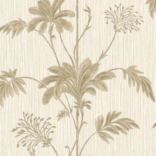 Cream Gold Grasscloth Leaf Belgravia Wallpaper 2913 (GB2913)