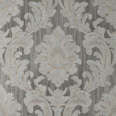 Fine Decor Vymura Milano Damask Grey Wallpaper M95623