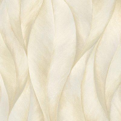 Erismann Leaves Beige Metallic Wallpaper 10148-14