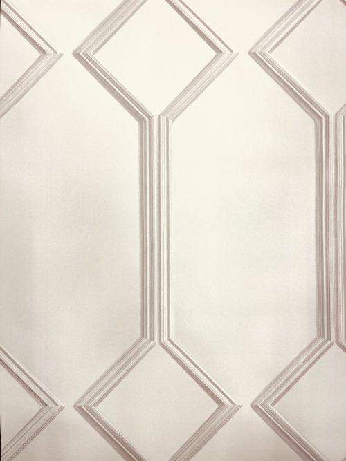 Alessia Beige Panel GB218 Belgravia Decor Wallpaper