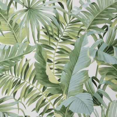 Fine Decor Maui Tropical Green FD42850 Wallpaper